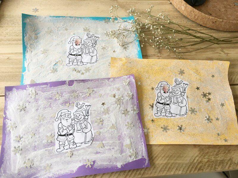 IMG 0661 2 - Puffy Paint kunstwerkjes maken tijdens kerst