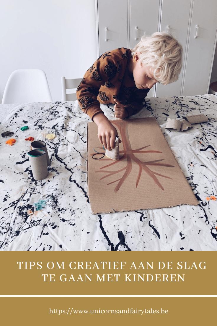 creatief met kinderen - unicorns & fairytales