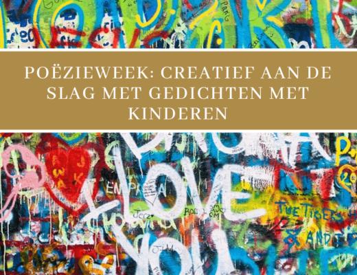 creatief met gedichten poëzieweek - unicorns & fairytales