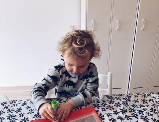 knutselen voor Valentijn met kinderen - unicorns & fairytales