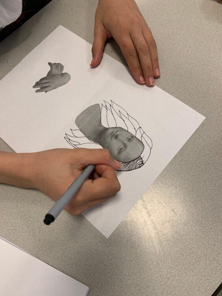 IMG 3180 768x1024 - Werken rond kunstenaars met kinderen: ideetjes, creatips en boekentips