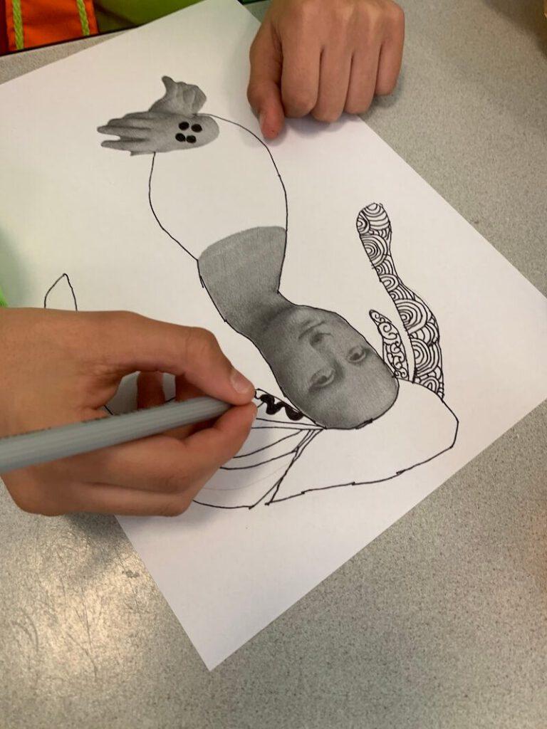 IMG 3184 768x1024 - Werken rond kunstenaars met kinderen: ideetjes, creatips en boekentips