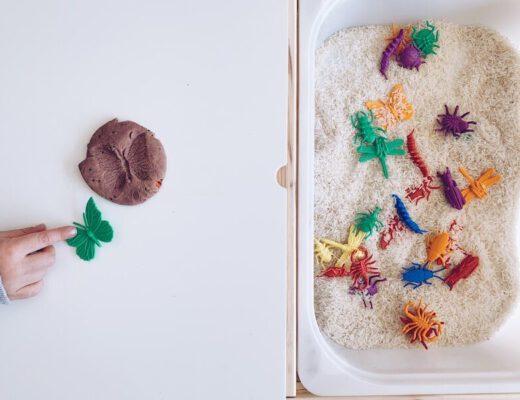 activiteiten rond kriebelbeestjes en de lente - unicorns & fairytales