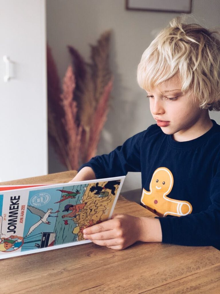 03F6C0F7 210B 495D A771 2886E15407DC 768x1024 - Zomerlezen met kinderen, een nieuw initiatief om lezen tijdens de zomervakantie te stimuleren