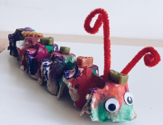 rups uit eierdozen - unicorns & fairytales
