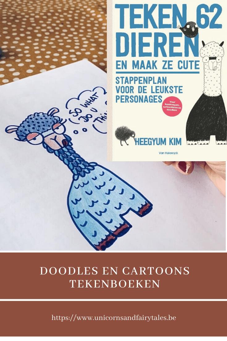 doodles tekenen - unicorns & fairytales