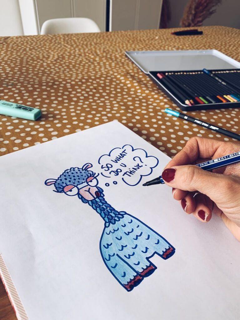 6AF3FD6F EE77 4A8A 9A63 6FDEEF2D9849 768x1024 - /kunst/ Maak je eigen doodles, cartoons en tekeningen met deze toffe boeken! & WIN