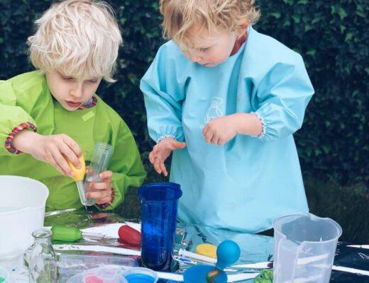 wetenschapslab met kinderen - unicorns & fairytales