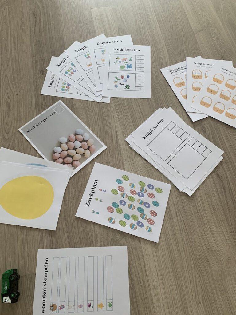 IMG 7254 768x1024 - Leuke knutselactiviteiten en (educatieve) spelletjes rond Pasen met kinderen