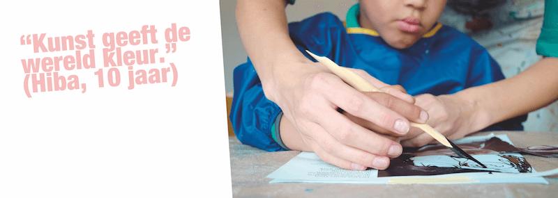 Vuile vingers 2 Lynn Bruggeman - Boekentip met creatieve workshops voor kinderen