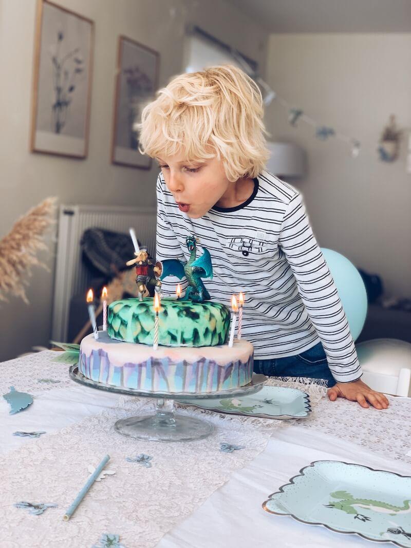 verjaardagstaart maken tips - unicorns & fairytales