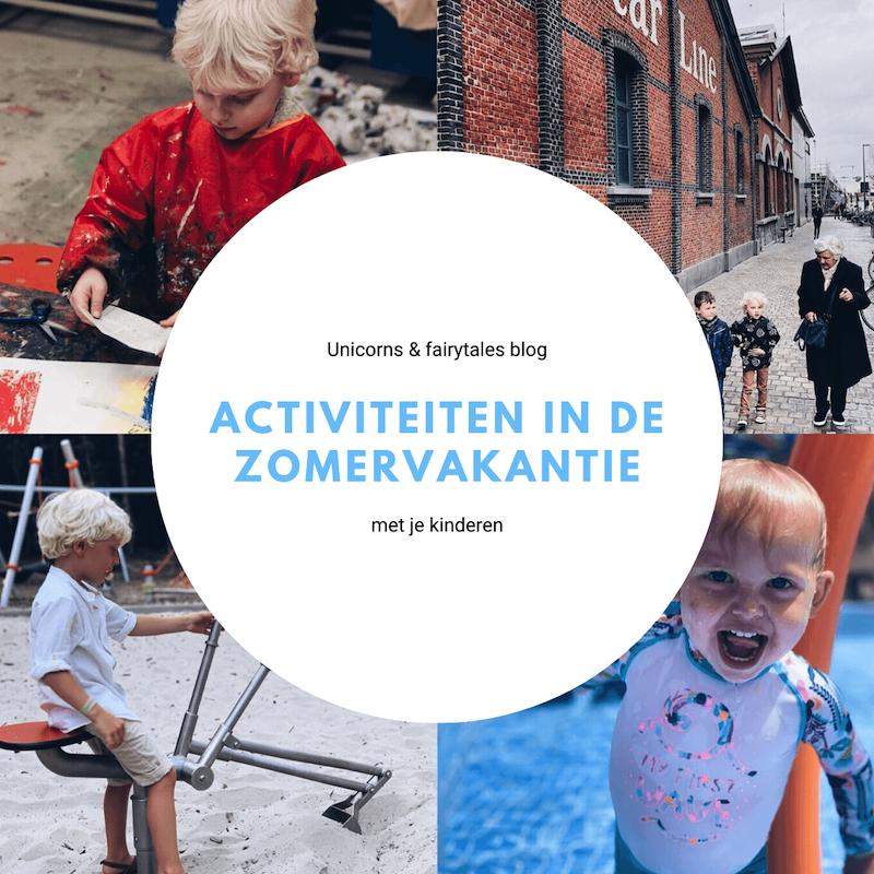 Summer Family Vacation Collage Instagram Post 2 - Leuke activiteiten in de zomervakantie, wat ga jij doen?