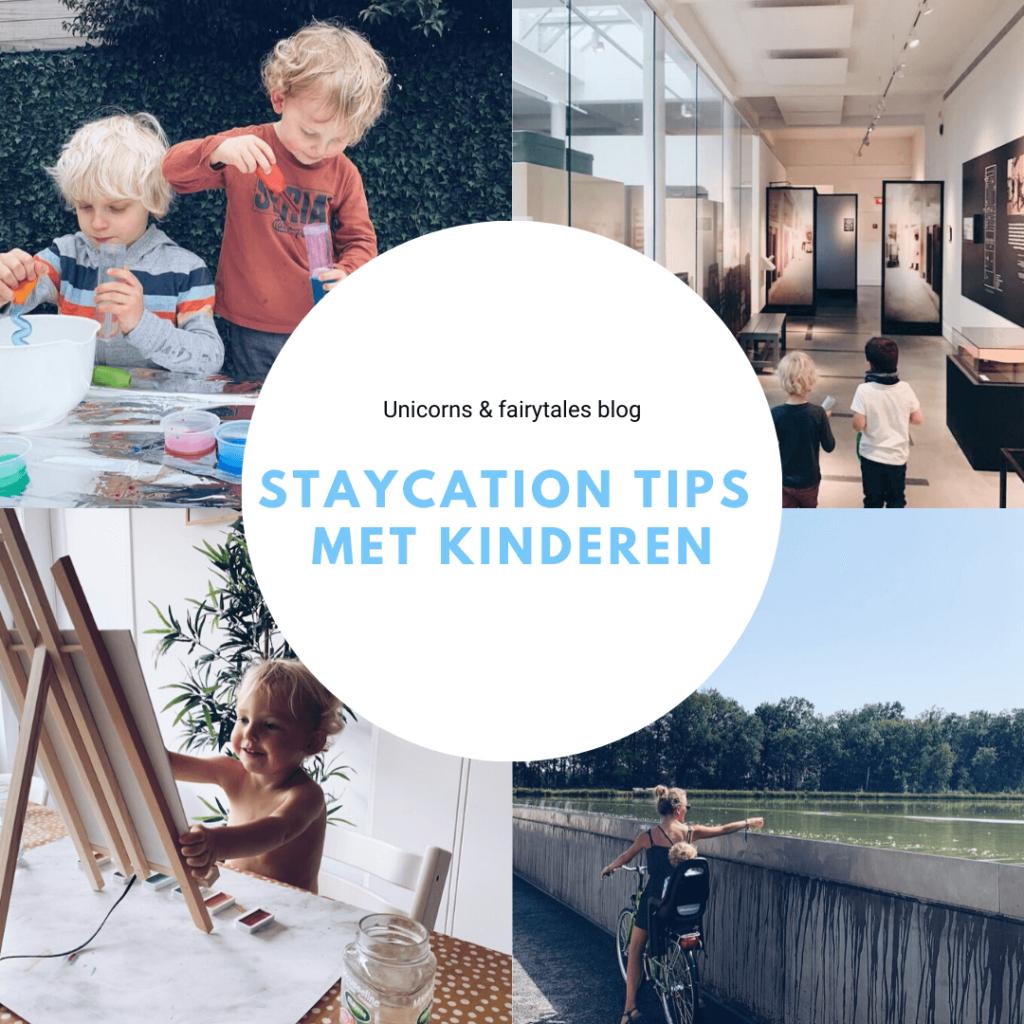 Summer Family Vacation Collage Instagram Post 3 2 1024x1024 - Leuke tips voor jouw staycation met kinderen!
