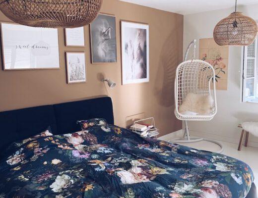 slaapkamer met natuurlijke kleuren - unicorns & fairytales