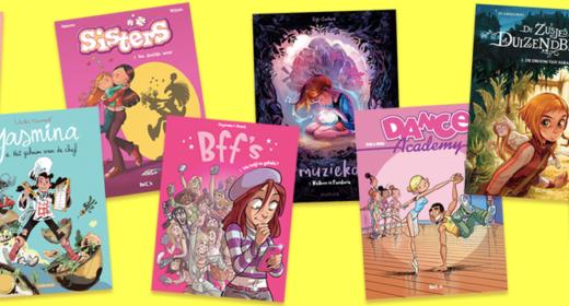 strips voor meisjes - unicorns & fairytales