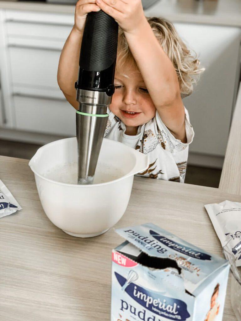 IMG 0050 768x1024 - Pudding zonder koken? Jawel! Kleine kinderen kunnen meehelpen