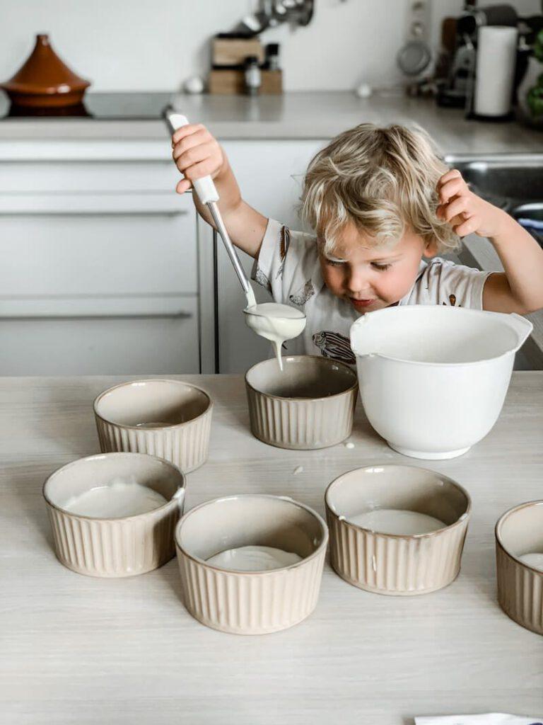 IMG 0057 768x1024 - Pudding zonder koken? Jawel! Kleine kinderen kunnen meehelpen