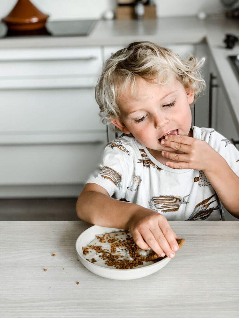 IMG 0064 768x1024 - Pudding zonder koken? Jawel! Kleine kinderen kunnen meehelpen