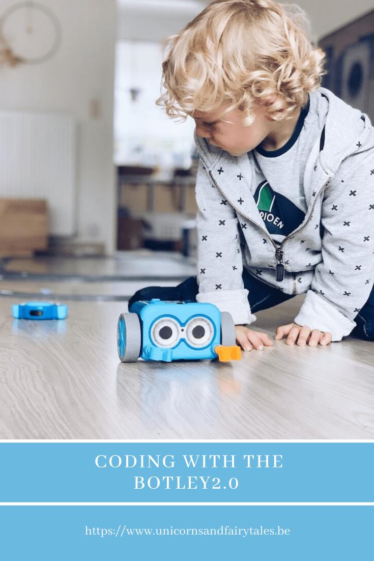 programmeren met kinderen en de Botley - unicorns & fairytales