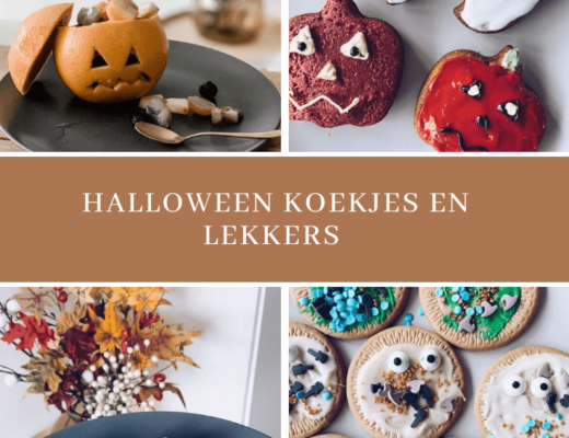 Halloween koekjes en cake - unicorns & fairytales