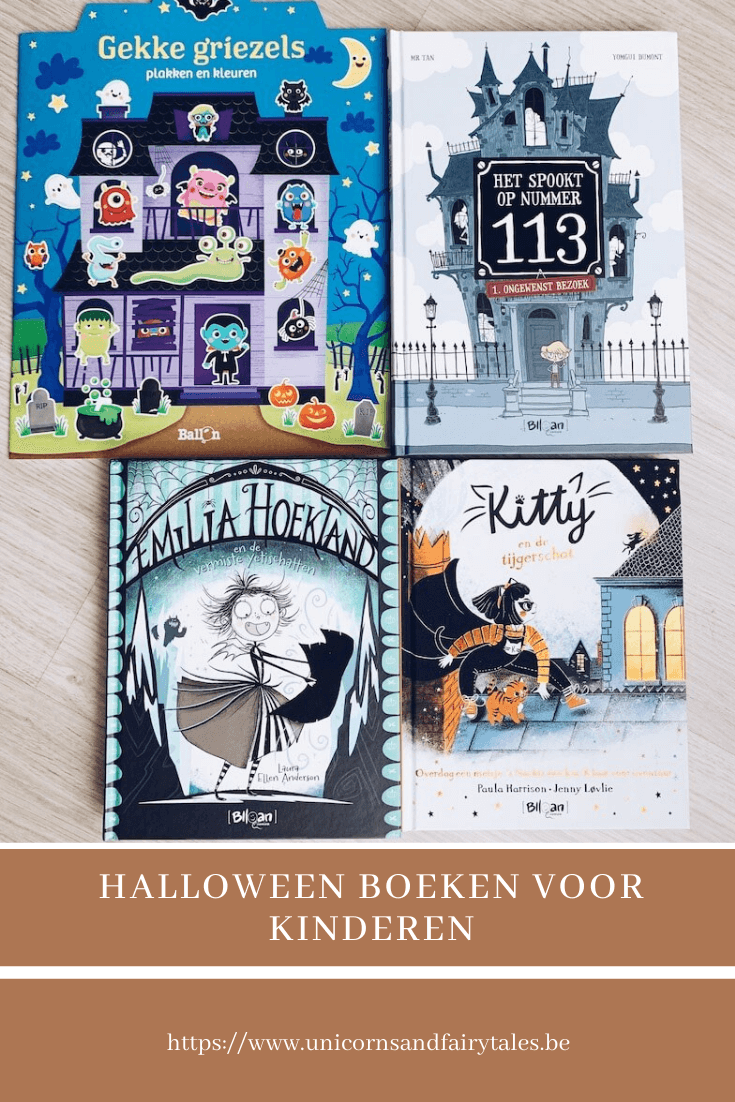 halloween boekentips - unicorns & fairytales