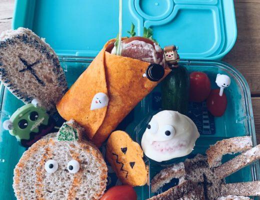 halloween bento lunchbox - unicorns & fairytales