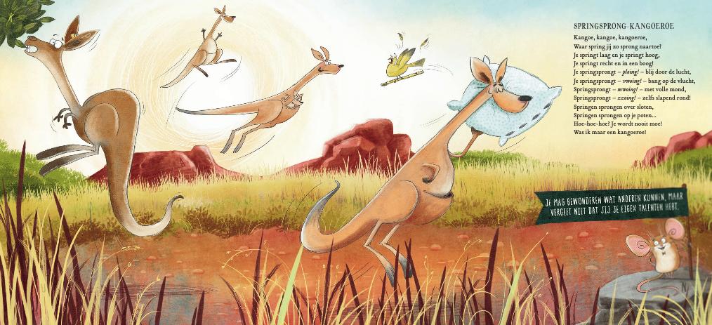 Kangoeroe Dan Brown Het wilde dierenorkes  - Boekentip waar muziek en ontdekking centraal staan:  Het wilde dierenorkest - Dan Brown