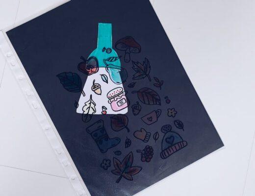 DIY zoekplaat maken - unicorns & fairytales