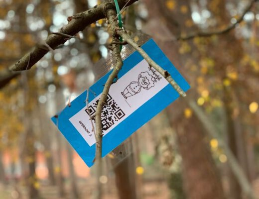 QR-codes thema Sint - unicorns & fairytales