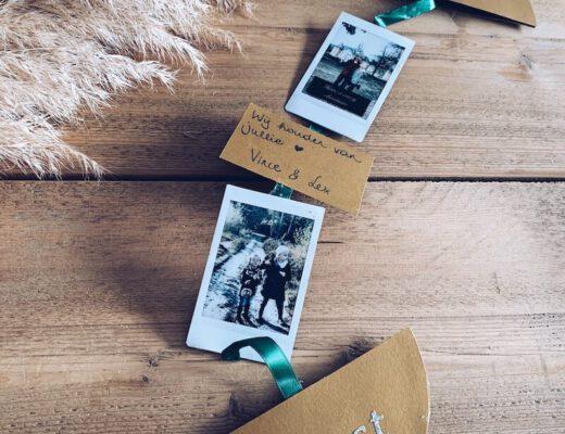 originele kerstkaartjes met foto's - unicorns & fairytales