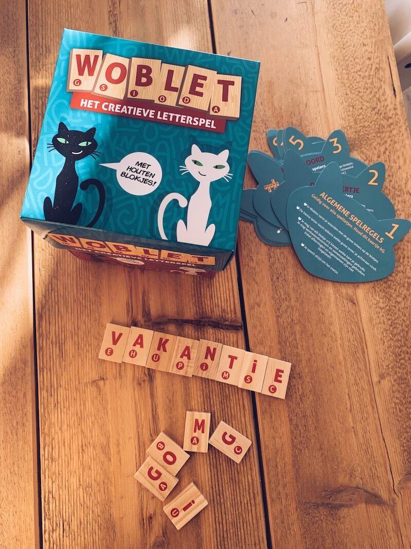 woblet educatief letterspel - unicorns & fairytales
