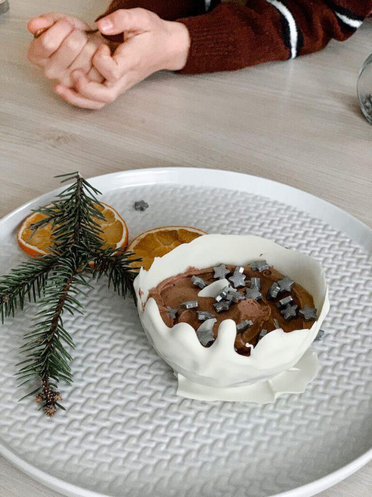 IMG 4150 768x1024 - Easy peasy Kerst dessert in enkele minuutjes!