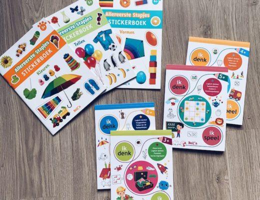 speel en leer boekjes stickerboeken - unicorns & fairytales