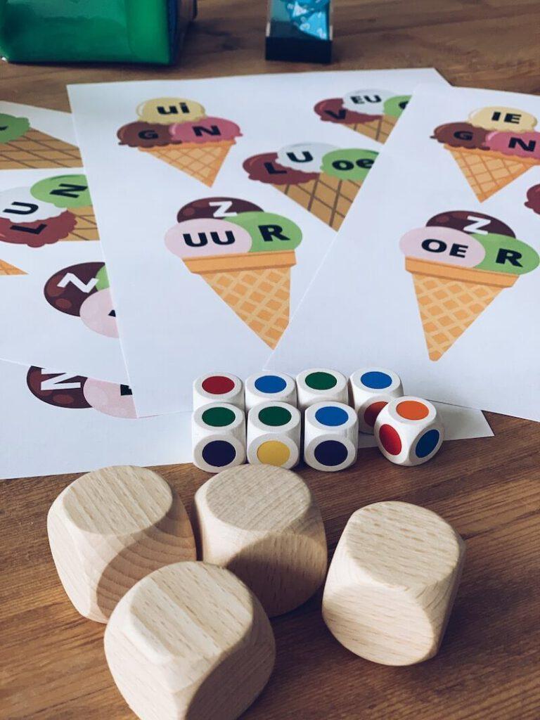 IMG 6300 768x1024 - Gratis printable: ijshoorntjesspel om leerstof te oefenen, thuis en in de klas!