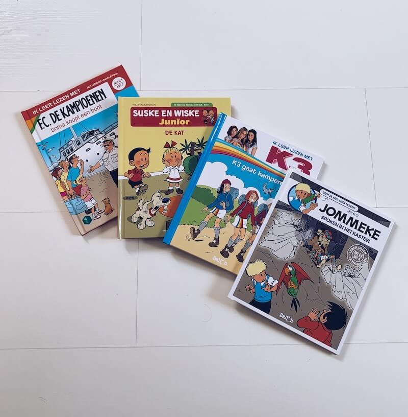 leren lezen met AVI strips - unicorns & fairytales