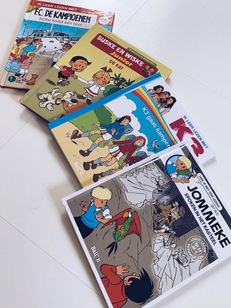 IMG 6986 768x1024 - Leren lezen met de bekende stripfiguren? Dat kan!