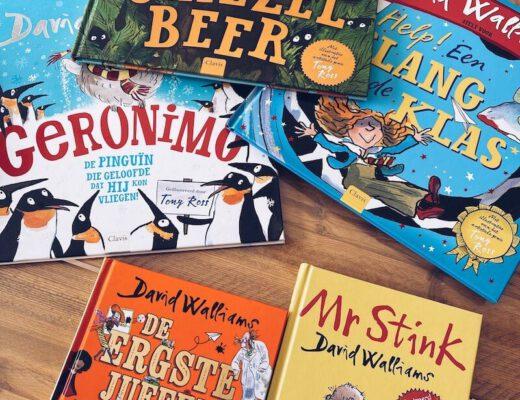 boeken van David Walliams - unicorns & fairytales